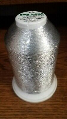 Madeira FS Metallic Machine Embroidery Thread - NEW! 1 Large 5000M Cone!