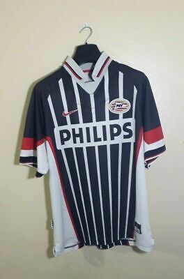 PSV Eindhoven Nike Jersey Vtg RARE 90s Large Holland Soccer Football Kit 1997