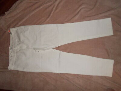 Old Navy Pixie Ankle Pants Women's Size 14 Tall NEW NWT White Slim Tapered