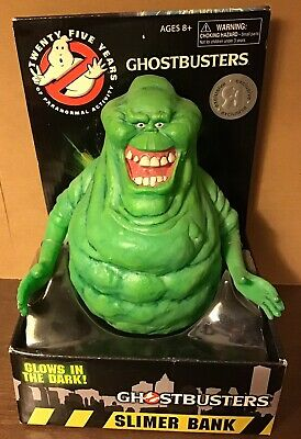 """#NEW Diamond Select GHOSTBUSTERS 8/"""" Slimer /'Glow-in-the-Dark/' Money Bank"""