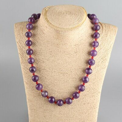 Chinese Exquisite Handmade amethyst necklace