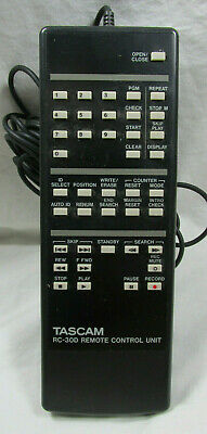 Tascam RC-30D - Remote Control - Wired - Rare Tape Deck Accessory