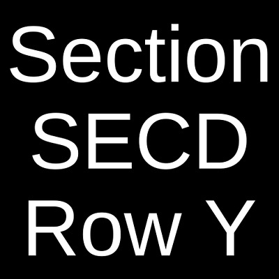 4 Tickets Megadeth & Lamb of God 7/3/20 Noblesville, IN