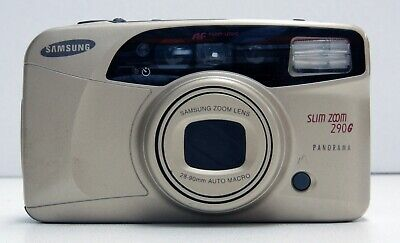Samsung Slim Zoom 290G 35mm Point and Shoot Film Camera