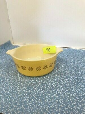 Vintage Pyrex Ovenware Dish with Lid