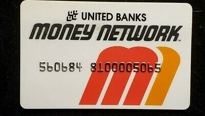 United Banks Money Network♡Free Shipping♡cc1017