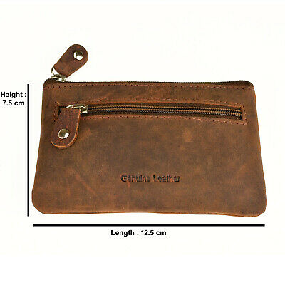 Genuine Full Grain leather Coin purse