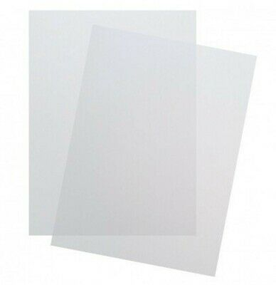 Premium Frosted Binding Covers Letter Size, 14 Mil - 500 Sheets