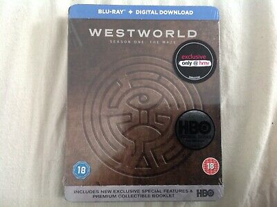 WESTWORLD Season One The Maze uk Exclusive Limited Edition Steelbook