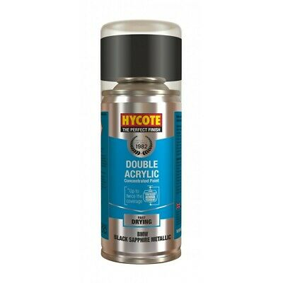 Hycote XDBM602 Double Acrylic Paint 150ml BMW Black Sapphire Metallic 475