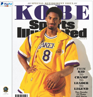 Sports Illustrated Kobe Bryant Special Retirement Tribute Issue: From Kid