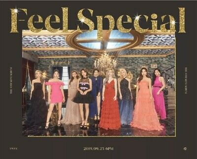 Twice [Feel Special]Ver.c Album Kpop Sealed -Cd+Book+6P Cards+Lyric+Gift 1P Card