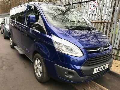 2015 Ford Tourneo Custom 2.2 Tdci Limited 1 Owner 87K Miles 9 Seats**Plus Vat**