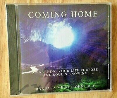 Coming Home Meditation & Walking the Sacred Wheel CDs by Barbara Meiklejohn-Free