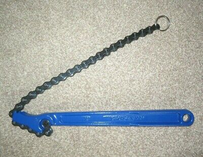 """Irwin Record T240 Chain Pipe Wrench / Handiwrench 4"""" (100mm) Capacity."""