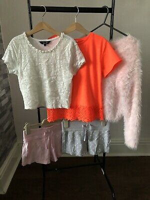 girls clothes bundle age 9-10years River Island, Next, New Look