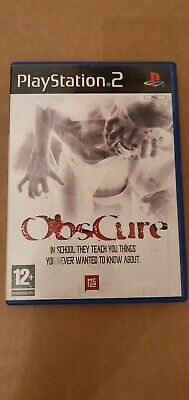 Obscure (Sony PlayStation 2, 2004) - European Version