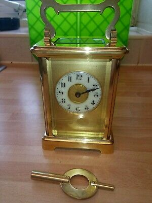 Antique french aiguilles carriage clock