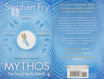 Mythos: The Greek Myths Retold: A Retelling of the Ancient Greece...