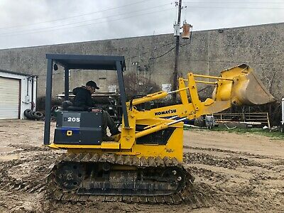Komatsu D20S Crawler Loader; Skidsteer CTL; 4666 HRS; Inspection/Operation VIDEO
