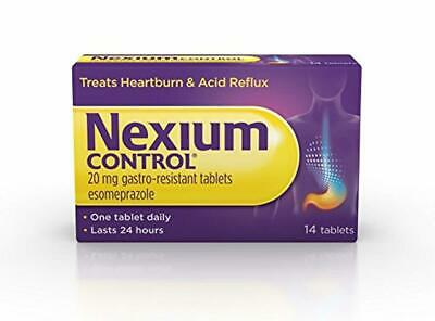 Nexium Control (14 Count) Heartburn and Acid Reflux Relief Tablets,20mg Gastro-