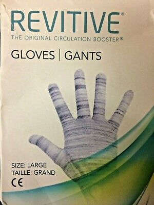 Revitive Circulation Booster Gloves EMS Reusable and Washable Gloves - LARGE