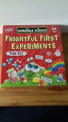 Horrible Science Childrens Kids Creepy Crystals Science Set