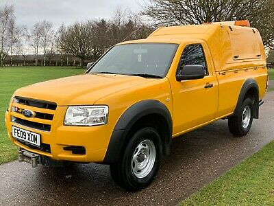 Ford Ranger Single Cab Pick-Up 81K 2.5Tdci 143Bhp 1 Owner 4Wd Yellow