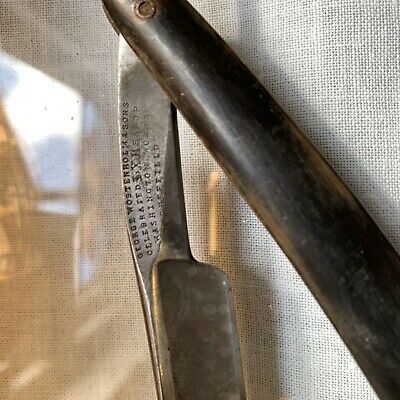 Vintage George Wostenholm And Sons Celebrated 1Xl Straight Razor