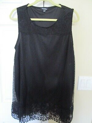 Dress Barn Roz&Ali top 2X