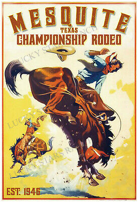CHICAGO RODEO 1928-VINTAGE RODEO POSTER-GRANT PARK SOLDIER FIELD COWBOY