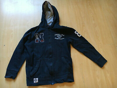 Next, Boys', Navy Blue, Zip Hoody, 152cm, Age 12 Yrs