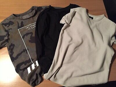 Boys Next And River Island T Shirts Bundle 8 Years Old
