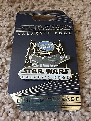 Disneyland Star Wars Galaxy's Edge LIMITED RELEASE Opening Day Pin (Blue)
