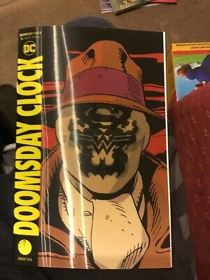 Doomsday Clock #1 - NM- - Rorschach Lenticular Variant