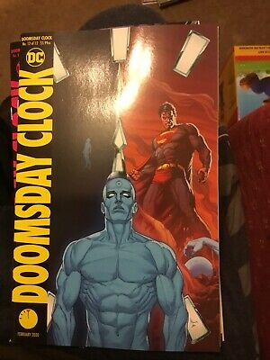 Doomsday Clock # 12 Variant Cover DC Comics Watchmen