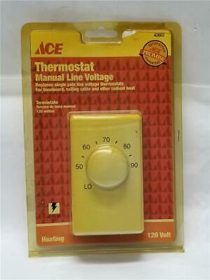 ACE 42603 Manual Line Voltage Thermostat