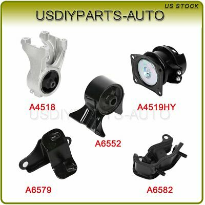 Motor /& Trans Mount 1999-04 For Odyssey 3.5L Auto M037 4519 6552 4518 6579 6582
