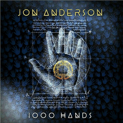 Jon Anderson - 1000 Hands Chapter One ( AUDIO CD in JEWEL CASE ) 2019 FREE SHIP