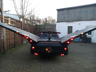 Bat Car Batman Fledermaus Gothic Steampunk Breitbau Tuning Design no Replica