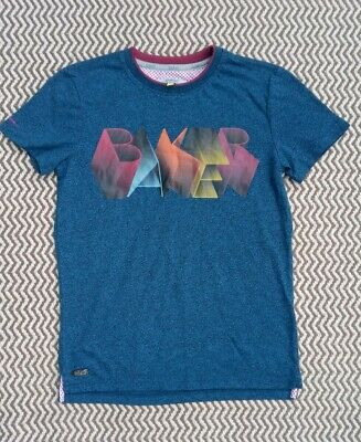 Boys Ted Baker Blue T-Shirt Age 8-9