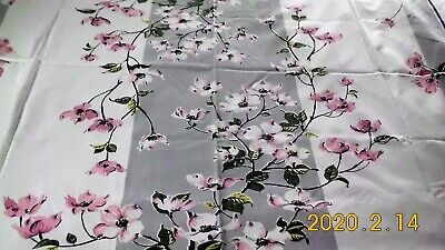 Vintage Apple Blossom Tablecloth- Very Nice