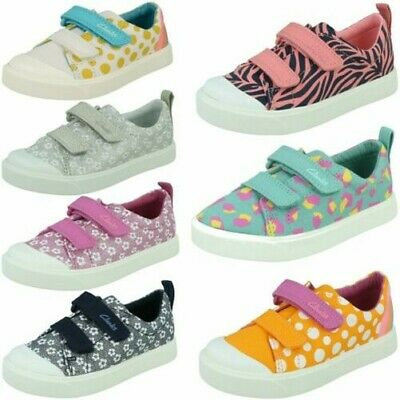 Girls Clarks Casual Shoes 'City Bright'