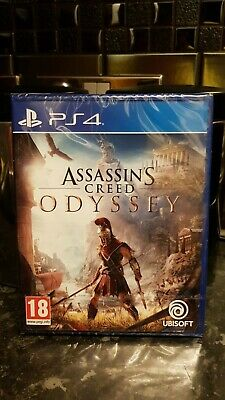 Brand New & Sealed ( Assassins Creed - Odyssey ) Brilliant Ps4  Game