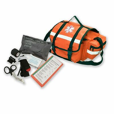 AsaTechmed Emergency Response Trauma Bag + First Aid Kit, EMT, First Responder