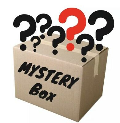 Mysteri Box with books, electronics, clothing, consoles games, dvds