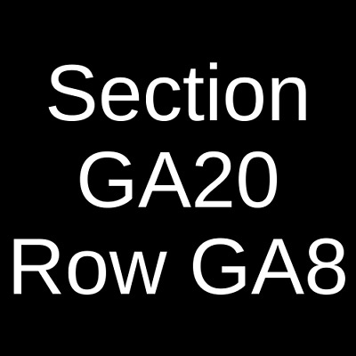 2 Tickets Nickelback, Stone Temple Pilots & Tyler Bryant and The 7/11/20