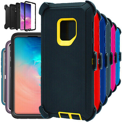 For Samsung Galaxy S9 S9+ Plus Shockproof Hard Case Clip Fits Otterbox Defender
