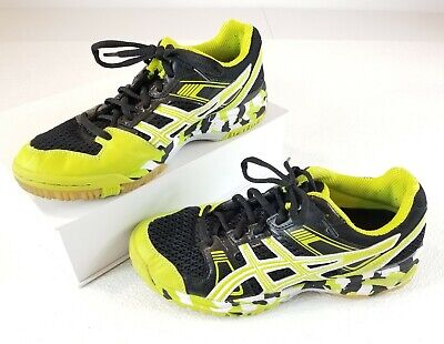ASICS GEL 1140V B251Q Womens Volleyball Shoes Size 6.5 Green