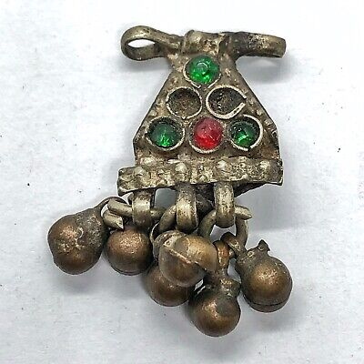 Late/Post Medieval Ottoman Empire Jewelry Pendant Islamic Talisman Middle East V